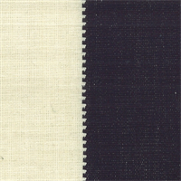 D2772 Calypso Black/White Stripe Drapery Fabric by Roth and Tompkins