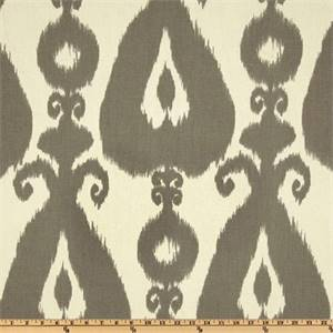 Iskander Silver By Richloom Drapery Fabric