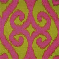 Patola Kiwi Ikat Chenille Upholstery Fabric by Swavelle