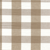 DL39 Lyme Linen Check Drapery Fabric by Roth and Tompkins