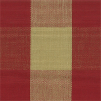 DL63 Lyme Claret Check Drapery Fabric by Roth and Tompkins