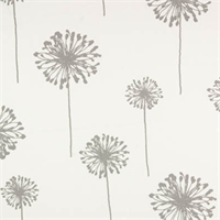 Dandelion White/Storm Twill by Premier Prints - Drapery Fabric