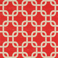 Gotcha Adventurous Red/Denton by Premier Prints - Drapery Fabric