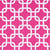 Gotcha Candy Pink/White by Premier Prints - Drapery Fabric