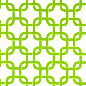 Gotcha White/Chartreuse by Premier Prints - Drapery Fabric