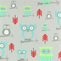 Hooty Harmony/Twill by Premier Prints - Drapery Fabric