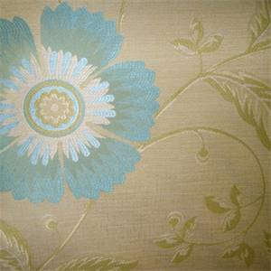 Lillie Lemmongrass Floral Upholstery Fabric