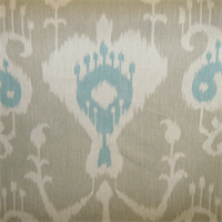 Java Driftwood Ikat Drapery Fabric by Magnolia