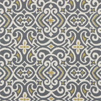 New Damask Greystone Contemporary Drapery Fabric by Robert Allen