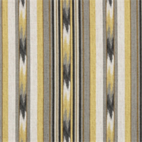 Ikat Stripe Greystone Striped Drapery Fabric by Robert Allen