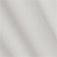 Washed Ranger Twill Bleach White Drapery Fabric