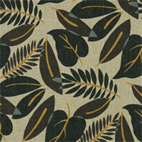 Fresh Leaf Terrain Floral Drapery Fabric by Robert Allen