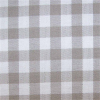 Lincolnshire Putty Checked Drapery Fabric by Covington