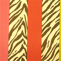 Zebra Stripe Tropic Drapery Fabric by Kaufman