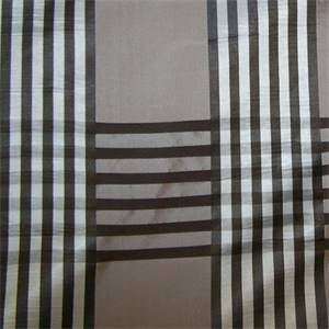 Corot Jute Faux Silk Striped Drapery Fabric