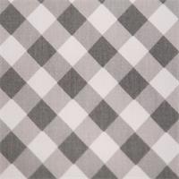 Checker Plaid Storm/Twill by Premier Prints - Drapery Fabric