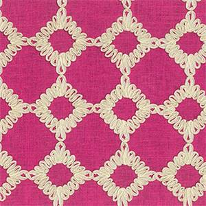 Keswick Ribbon Blossom Drapery Fabric by Willamsburg