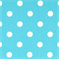 Polka Dots Girly Blue/Twill by Premier Prints - Drapery Fabric