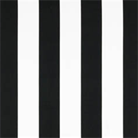 Stripes Black/White by Premier Prints - Drapery Fabric