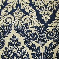 M9209 Indigo Matelasse Upholstery Fabric by Barrow