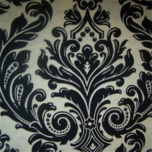M9209 Onyx Floral Upholstery Fabric by Barrow
