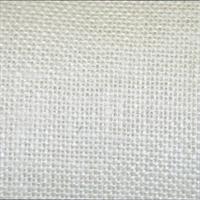Burlap White Drapery Fabric