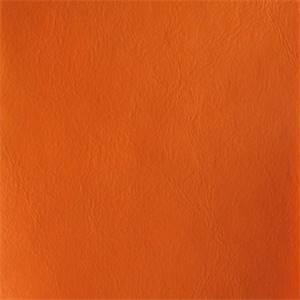 Galaxy Kiki Orange Fleece Back Vinyl Fabric