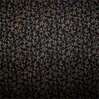 Filagree Black/Gold Drapery Fabric
