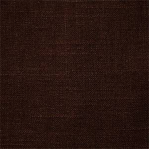 Jefferson Chocolate Linen Drapery Fabric