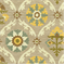 Mayan Medallion Pebble Suzani Drapery Fabric by Waverly