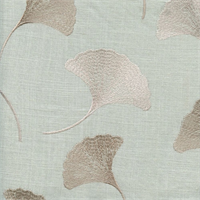 Maidenhair Mist Embroidered Drapery Fabric by Braemore