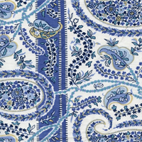 Thalien-CM Blueberry Paisley Drapery Fabric by Fabricut