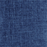 Atlas Indigo Chenille Upholstery Fabric