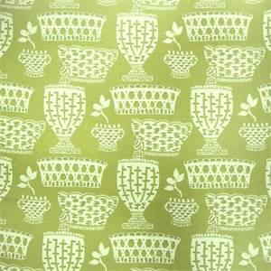 Caroline Grass Slubby Drapery Fabric