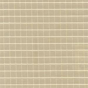 Reno Linen Check  Drapery Fabric