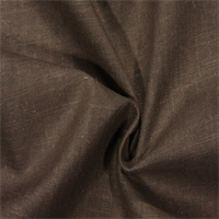 Slubbed Weave Linen Look Truffle Brown Drapery Fabric by Robert Allen