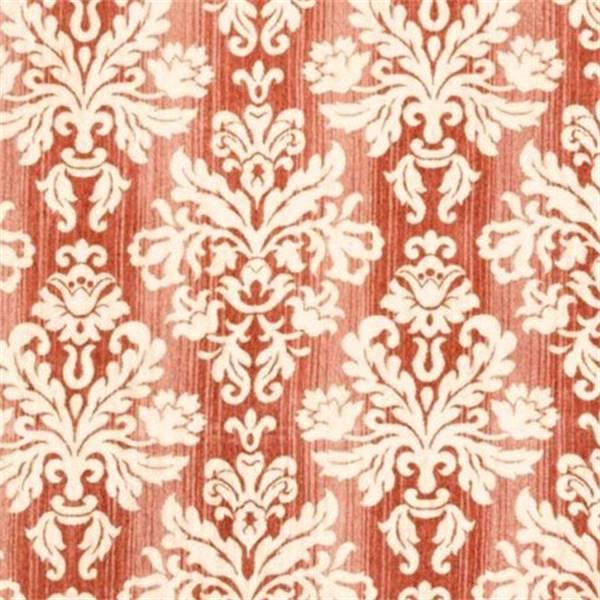 Freya Watermelon Chenille Damask Upholstery Fabric 29460