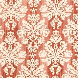 Freya Watermelon Chenille Damask Upholstery Fabric