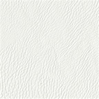 Rawhide 60 White Solid Bonded Leather Fabric