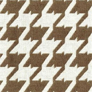 Bohemian 85 Sand Brown Houndstooth Upholstery Fabric 29772