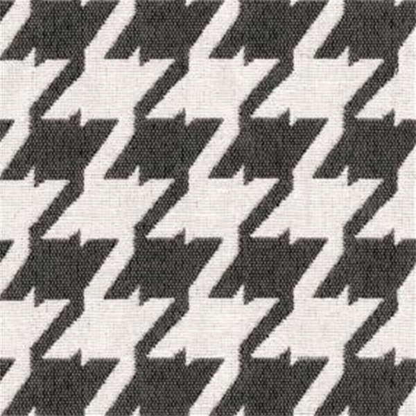 Bohemian 9006 Pewter Grey Houndstooth Upholstery Fabric 29774