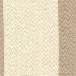 Southport Putty Striped Herringbone Fabric