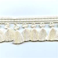 SAV-D Pearl Tassel Fringe