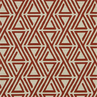 Triangle Maze Currant Contemporary Upholstery Fabric by Robert Allen