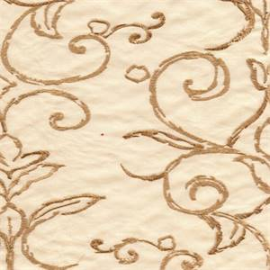 Tulsa Bone Faux Silk Drapery Fabric