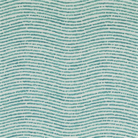 Beachcomber Teal Printed Cotton Fabric by P Kaufman