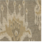 Pavato Wheat Ikat Drapery Fabric