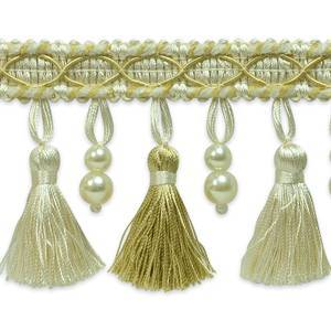 IR6893 DLC Beaded Tassel Trim - 20 yard reel