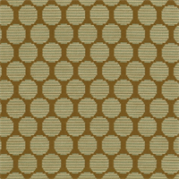 Roundabout Cocoa Dot Drapery Fabric by Waverly
