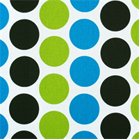 Fancy Wild Polka Dot Drapery Fabric by Premier Prints